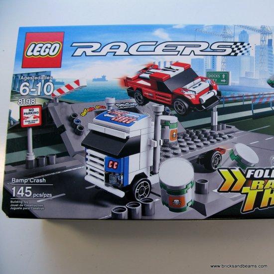 LEGO 8198 Racers Ramp Crash Set Brand New
