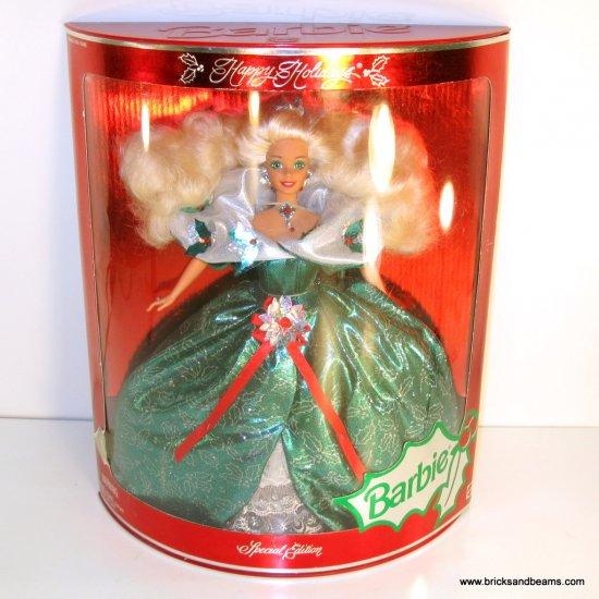 1995 Happy Holidays Barbie Special Edition NRFB NIB