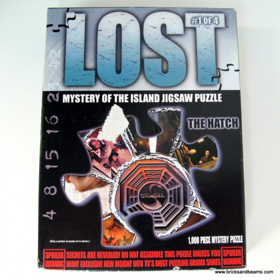 Lost Hatch Puzzle 1000pc Mystery of the Island Puzzle