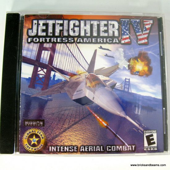Jetfighter IV 4 Fortress of America PC Game Jewel Case