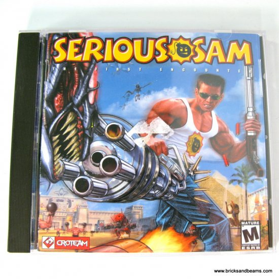 Croteam Serious Sam The First Encounter PC Game