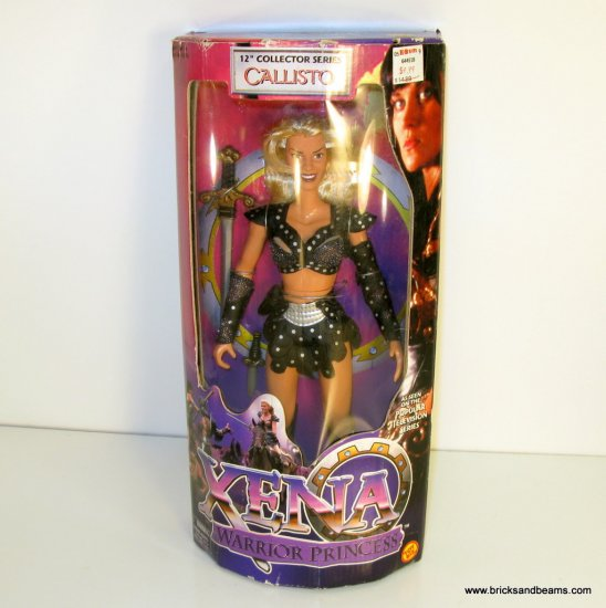 """Xena 12"""" Callisto Collector Series Doll Action Figure Boxed Sealed 1998"""