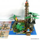 Lego 6270 Pirate Forbidden Island Set with Instructions 4 mini-figs and Monkey