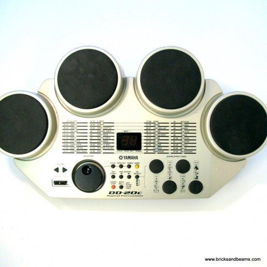 Yamaha DD-20C Drums Digital Percussion Pad Machine WORKS GREAT!