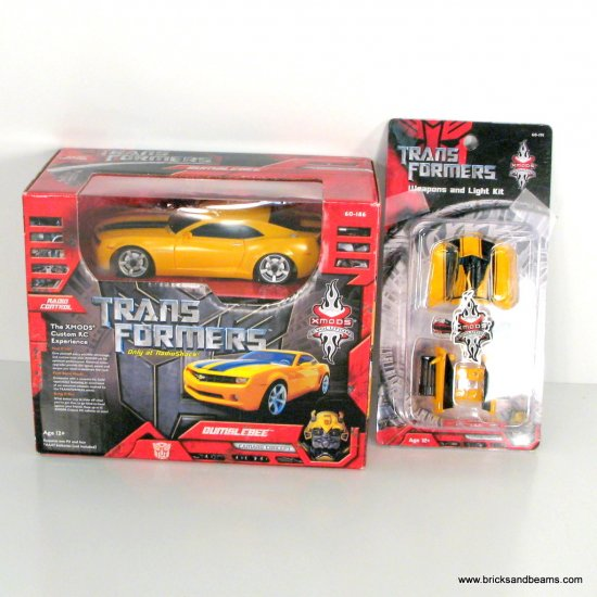 Transformers 2007 Movie XMODS Evolution RC Bumblebee Concept Camaro