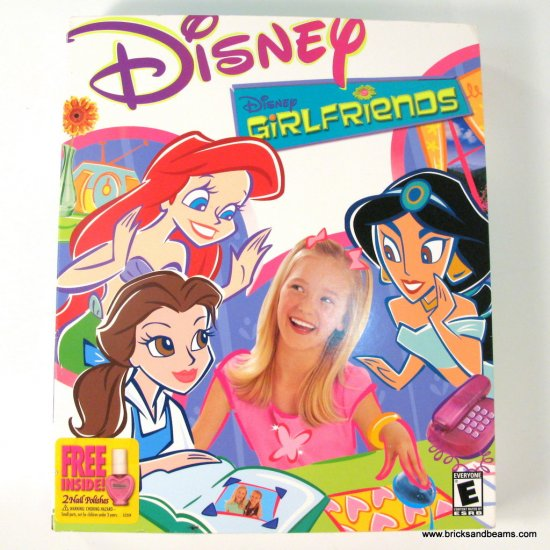 """Disney Girlfriends Windows MAC Game New Sealed BOXED 3.5"""" Disk New Sealed"""