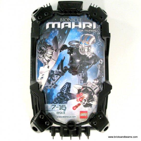 Lego Bionicle 2007 8913 Set Mahri Toa Nuparu Black New NIB BNIB