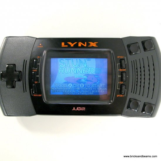 Atari Lynx Console Portable System with 1 Cartridge Game