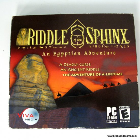 Viva Media Riddle of the Sphinx New PC Game