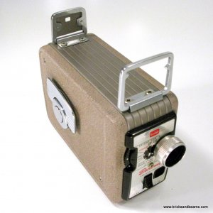 Vintage Kodak Brownie 8mm Movie Camera II Windup 8mm Movie