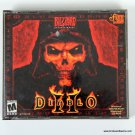 Blizzard Entertainment Diablo II PC Game Jewel Case Serial Number and Art