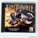 LucasArts Full Throttle PC Game Art Jewel Case Disc 1994 A Heavy Metal Adventure