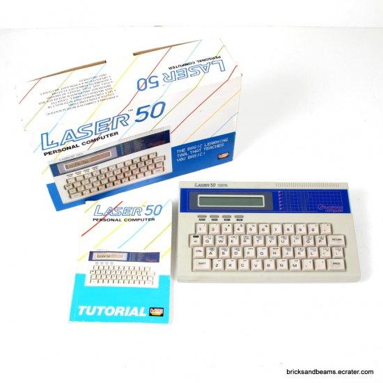 Vintage Laser 50 Personal Computer w Box Manual 1985