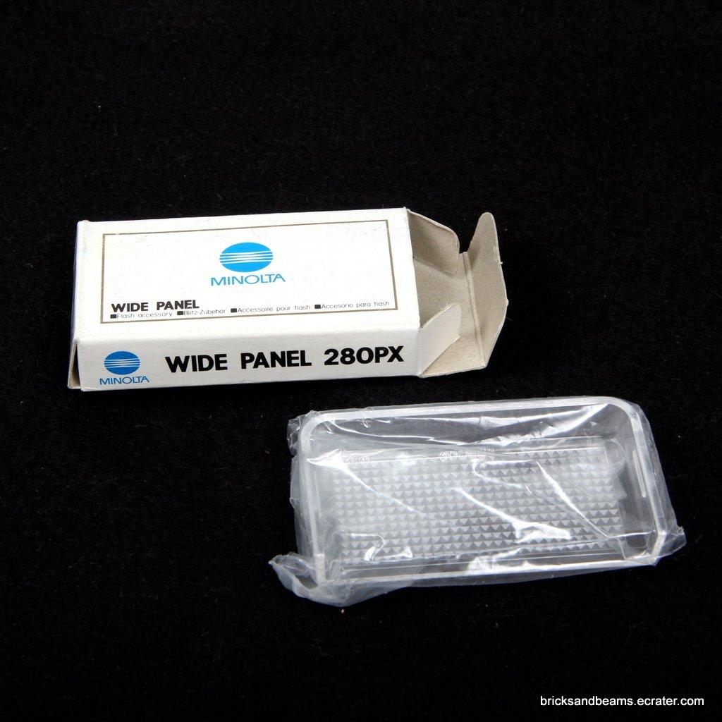 Minolta Wide Panel 280PX Flash Diffuser for 280PX/100710