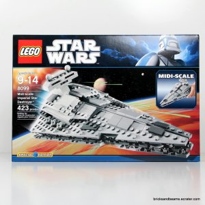 Lego Star Wars 8099 Midi-scale Imperial Star Destroyer