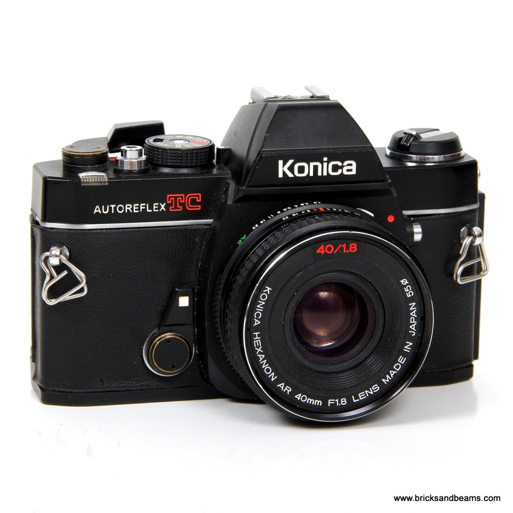 5 Star Auto Sales >> Konica Autoreflex TC SLR 35mm Film Camera with Hexanon AR 40mm F1.8 Lens