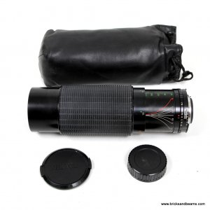 Nikura MC Mount 60-300mm f 3.9 Zoom Lens w Soft Case for Nikon FG Others