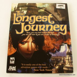 The Longest Journey Funcom 2000 Rated M PC Game New in Box