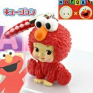 Kewpie x Elmo cell phone strap