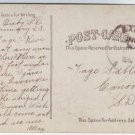 Bixby South Dakota Cancel on Postcard DPO 1895-1951 Perkins County Free Shipping!!