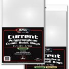BCW 1000ct (Case) Current Comic Resealable Bags