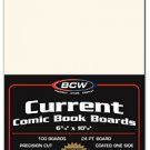 BCW 1000ct (Case) Current Comic Boards