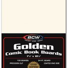 BCW 1000ct (Case) Golden Comic Boards