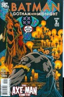 Batman Gotham After Midnight #2 NM Unread