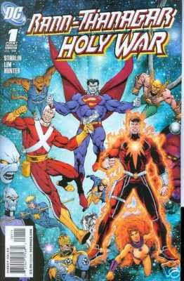 Rann-Thanagar Holy Way #1 NM Unread