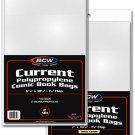 BCW 100 Current Comic Boards & Bags (Thick)