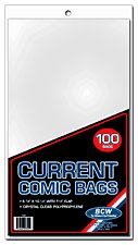 BCW 100 Current Comic Bags (Thick)