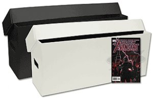 BCW (10) Long Comic Storage Boxes - Plastic