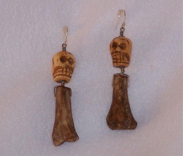 Skull & Bone Earrings