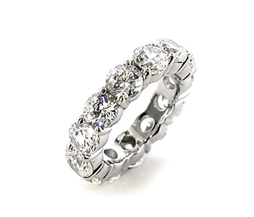 CUBIC ZIRCONIA CZ STERLING SILVER RING SIZE 5 7 8 or 9