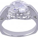 CLEAR CUBIC ZIRCONIA CZ RING SIZE 5 6 7 8 or 10 JEWELRY