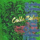 Men's Tee T-Shirt Latina Revolucion Calle Salvaje Lion Green Gold Foil Medium