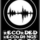 Recorded Recordings Records Sticker