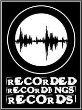 Recorded Recordings Records Sticker