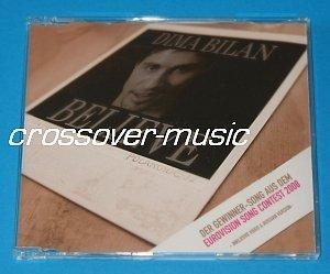 DIMA BILAN Believe 4-TRACK CD 2008 EUROVISION RUSSIA