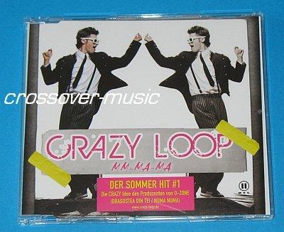 CRAZY LOOP Mm-Ma-Ma 4-TRK CD DAN BALAN O-ZONE Dragostea