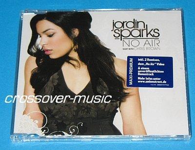 JORDIN SPARKS CHRIS BROWN No Air 5-TRK CD 2008 sealed