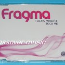 FRAGMA Toca's Miracle / Toca Me GER 6-TRK REMIX CD 2008