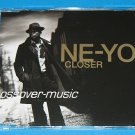 NE-YO Closer 4-TRACK CD SINGLE 2008 STARGATE NEW