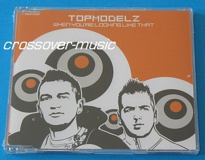 TOPMODELZ Vs WESTLIFE When You're Looking 8mx CD 2008