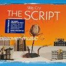 THE SCRIPT We Cry GER 4-TRACK CD SINGLE 2008 IRISH BAND