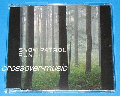 SNOW PATROL Run GER 4-TRK CD SINGLE 2003/2008 NEW