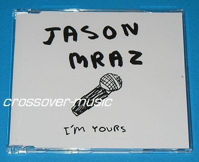 JASON MRAZ I'm Yours GER 4-TRACK CD SINGLE 2008