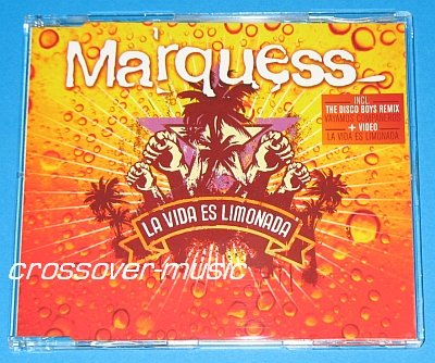 MARQUESS La Vida Es Limonada 5-TRK CD 2008 SUMMER SMASH