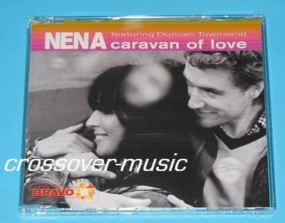 NENA Ft. DUNCAN TOWNSEND Caravan Of Love 4trx CD 99 Red
