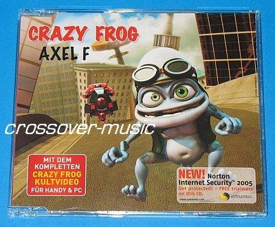 CRAZY FROG Axel F 5TR CD SINGLE 2005 HAROLD FALTERMEYER